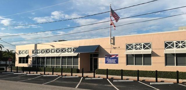 Martin County Election Center's building