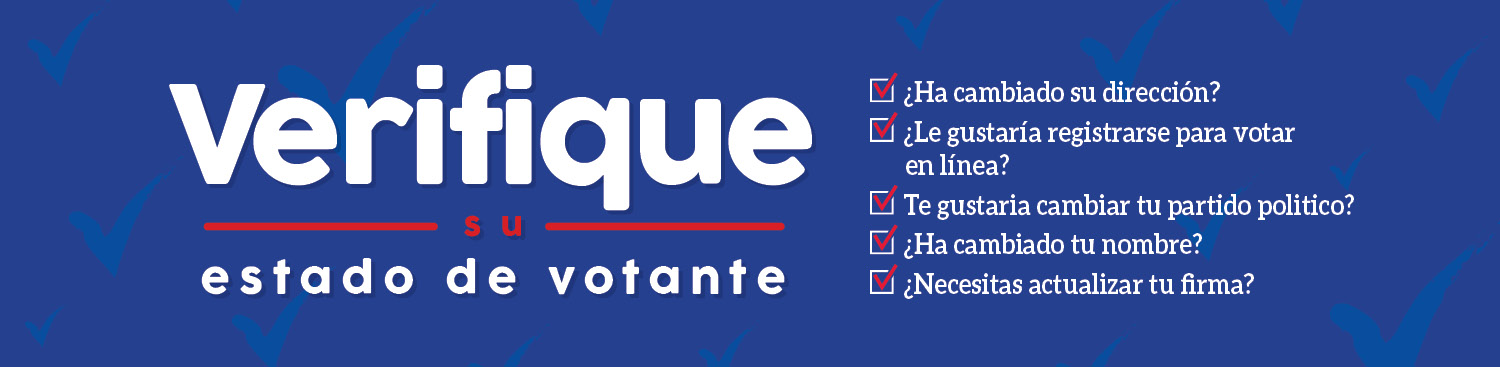 Check Your Voter Status – In Spanish