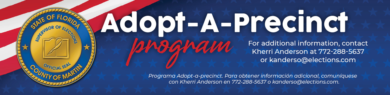 Adopt A Precinct